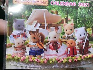 Sylvanian-Families-Wall-Calendar-2021-Epoch-Japan-Calico-Critters