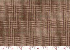 100% Cotton Ralph Lauren Upholstery Fabric from USA Foxberry Plaid CL Cranberry