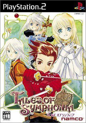 [Need Japan PS2/Language:Japanese] Tales of Symphonia Used Japan Import