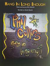 Phil Collins: RESISTI abbastanza a lungo (PIANO/VOCAL/Guitar SPARTITI MUSICALI) ESAURITO!