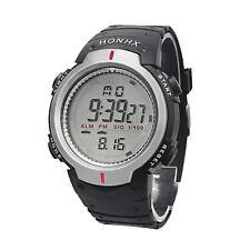 Resistente al agua Reloj De Hombre Montañismo Sports Watch Digital LED Cuarzo