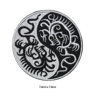 Yin-Yang-Dragon-Embroidered-Patch-Iron-on-Sew-On-Badge-For-Clothes-Bags-etc