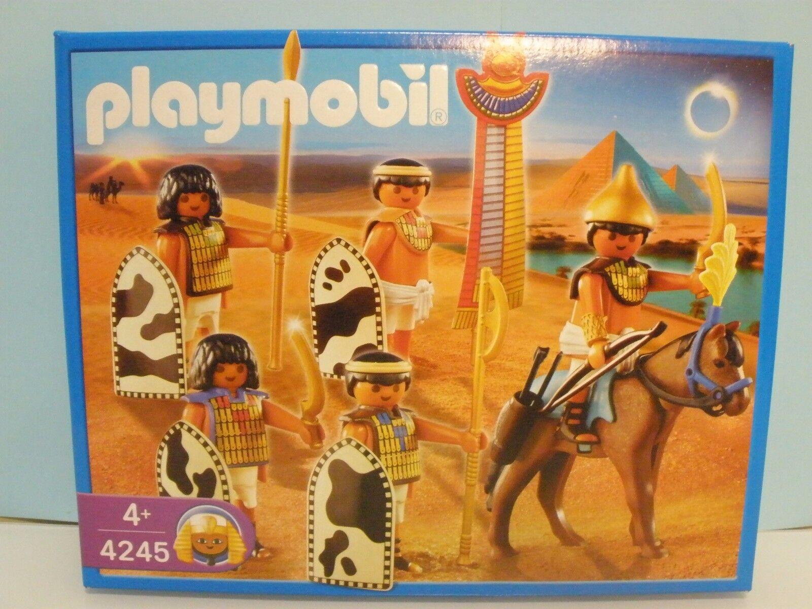 Playmobil Guerreros Guerreros Guerreros Egipcios y para Belén Ref 4245 año 2008 2 27aa8c