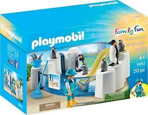 Playmobil-Family-Fun-9062-Set-de-Pinguinos-con-acuario-Mas-de-4-anos