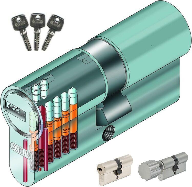 55 55 Abus EC550 Profilzylinder Schließzylinder Knaufzylinder viele Schlüssel  | Ästhetisches Aussehen  | Stilvoll und lustig  | Online einkaufen  | Roman