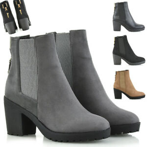 Cheap Price Hot Sale LADIES PULL ON CHELSEA ELASTICATED GUSSET WOMENS ANKLE BOOTS