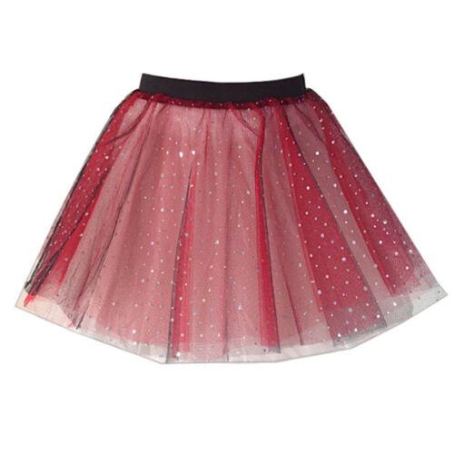 KIDS SPARKLE colour TuTu FANCY DRESS COSTUME Princess Party TU-TU 12 INCH