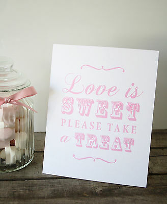 Shabby Chic/Vintage Candy Buffet Sign/Candy Bar/Sweets/Table Sign/Wedding/ 10009