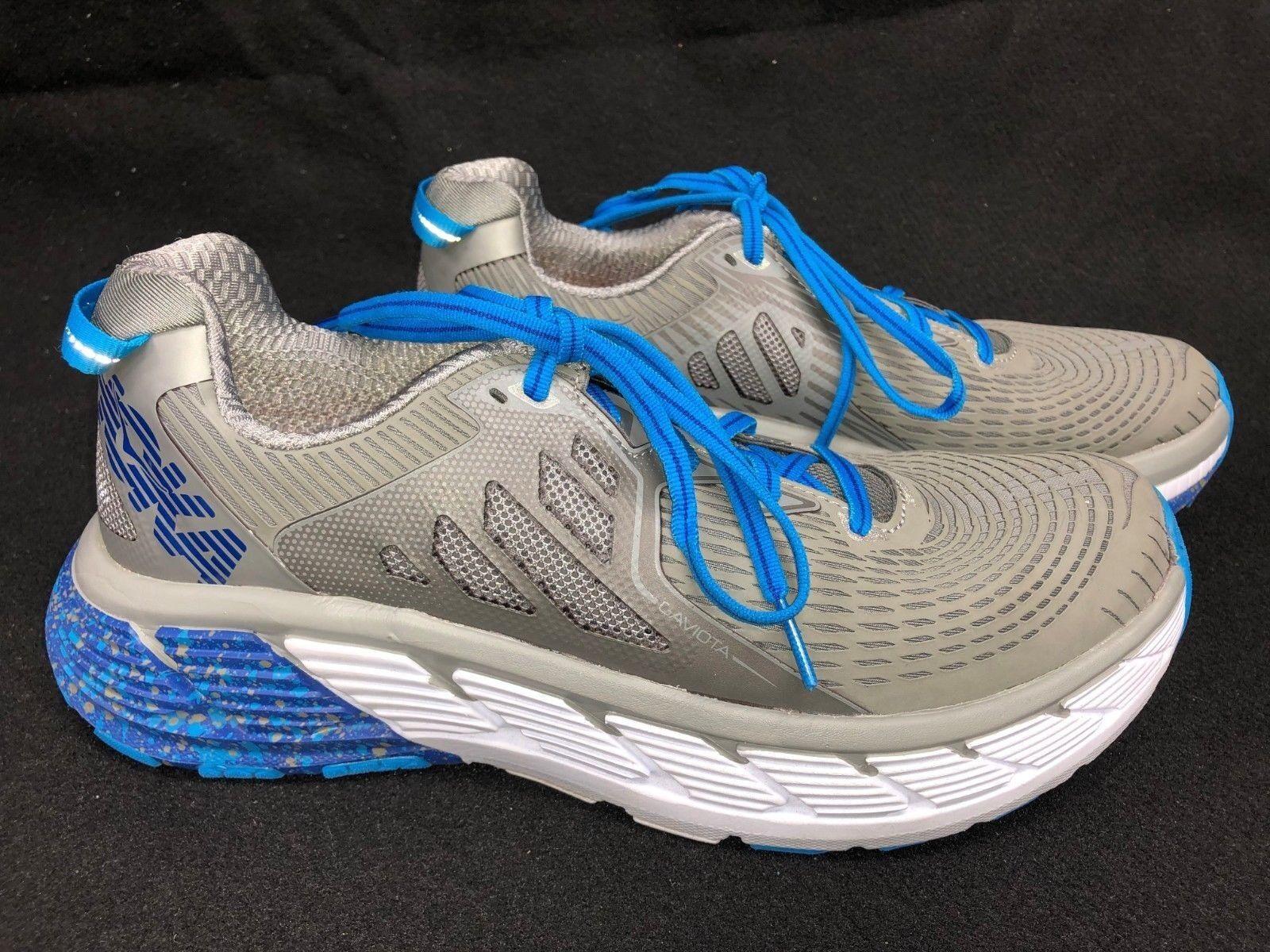 HOKA ONE ONE Gaviota Men's running tennis shoes Lace Up Wild Dove   True bluee