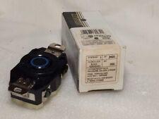 Leviton 2420 20 Amp 250 Volt 3PY Flush Mounting Locking Receptacle,