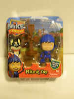 Mike The Knight Mike & Yap Includes Training Post Ages 2+ Nw In Pack