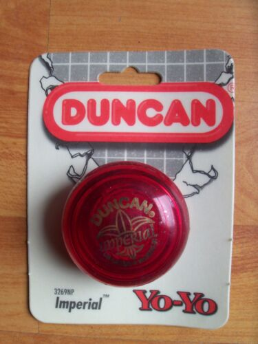 Red Imperial Yoyo #3269NP 1994 Duncan New Sealed Pack boys & Girls 5 years & up