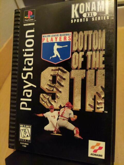 Bottom of the 9th (Sony PlayStation 1, 1996) Long Box