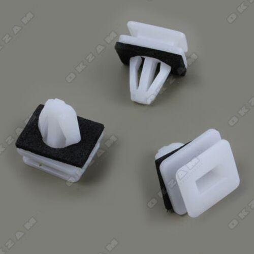 10x Clip per Acura Ilx MDX RL RLX TL ZDX PARAFANGO minigonne NUOVO *