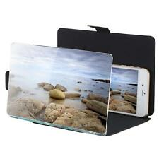 """8.2"""" Camouflage Smart Phone Video Screen Magnifier HD Expander w/ Stand G0D7"""