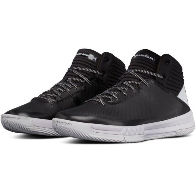 0ab3d1c766b58 Under Armour Men s Lockdown 2 Basketball Shoes UA 1303265-003 Black Grey