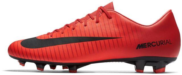 616 Calcio Rosso Nike Uomo FG 831964 Mercurial Victory Scarpe 45 da Zqw8BB