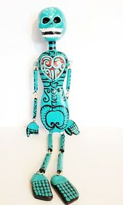 Authentic-Dania-Elisai-handmade-day-of-the-dead-paper-mache-doll