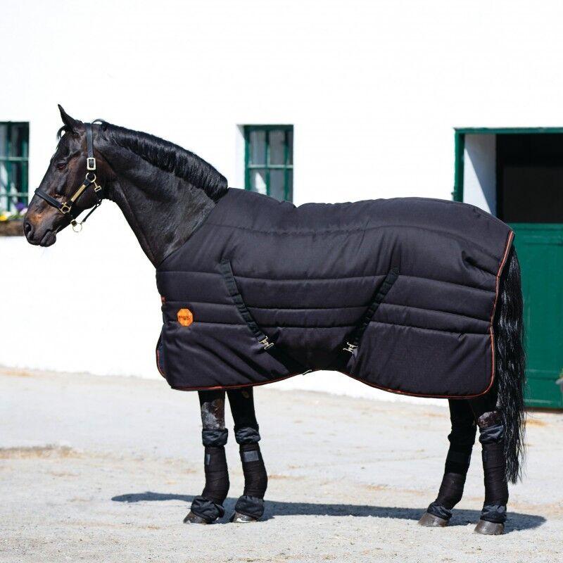 Horseware Rambo Ionic stable Rug 200g-negro