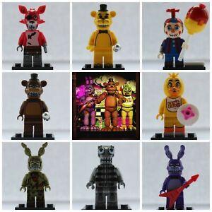 FNAF-Five-Nights-At-Freddies-Bonnie-Foxy-Chica-Endo-Use-With-Lego-Mini-Figures