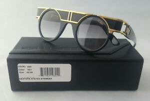 5613129989e0 CAZAL LEGENDS MOD. 002 COL. 001 LTD EDITION 24K GOLD BLK SHADES MADE ...