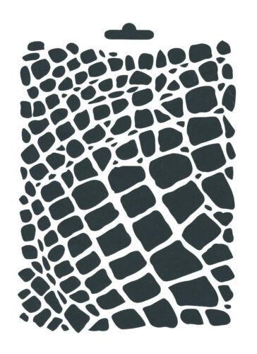 1 Schablone HINTERGRUND POSTKARTEN A5 für Wand Fenster Textil ua HEIKE SCHÄFER