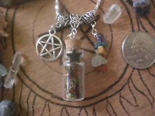 Witch Lucky Love Sex Spell Potion Bottle Talisman Pendant Luck Charm