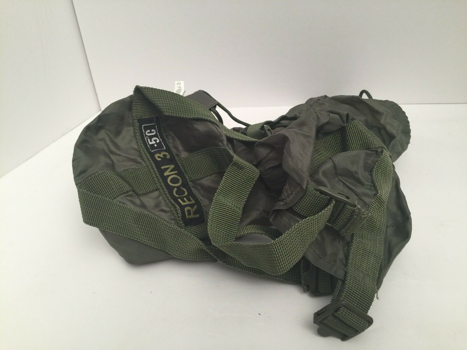 Recon 3 Sleeping Bag CASE -5 C Military Spec  Tactical GREEN 5 Degree  70% off