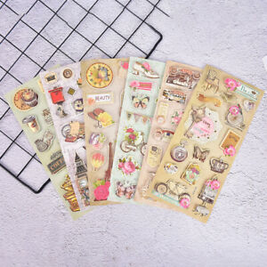 Mixed-decorative-3D-adhesive-stickers-for-diy-photo-album-scrapbooking-crafts-wr