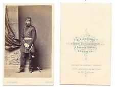 CDV Victorian Soldier in Dress Uniform Carte de Visite by Slingsby of Lincoln
