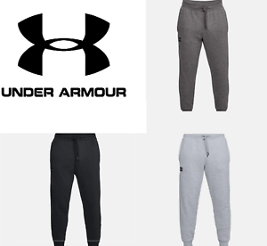 Under-Armour-UA-Men-039-s-Rival-Fleece-Jogger-Sweat-Pants-FREE-SHIPPING-1320740