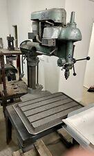 Vintage Walker Turner Radial Arm Drill Press 14 78 Throat 26 X 18 Table
