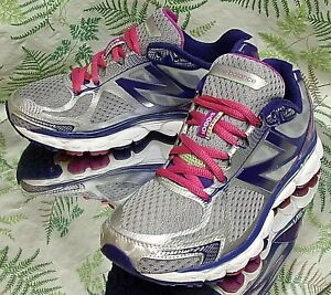new balance 1080v5 women's shoes silver/blue