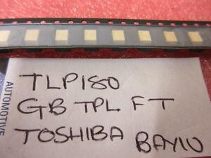 10 x TLP180 SMD ORIGINAL TOSHIBA Optocoupler TLP180GB 10 Per Strip UK Stock