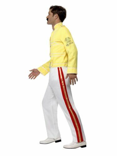 Men/'s Queen Freddie Mercury Tribute Fancy Dress Costume Festival Pride 80/'s Icon