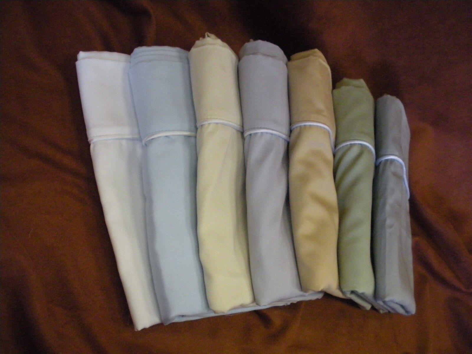 100% Satin de Coton Couette couette Cover-Toutes Tailles Avec Fermeture