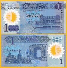 Libya 1 Dinar p-new 2019 Commemorative UNC Polymer Banknote