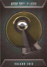 """Star Trek Aliens - B1 """"Vulcan Idic"""" Badge Card #171/200"""