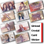 10Pcs-Set-Kpop-GFRIEND-HD-Waterproof-Lustre-Photo-card-Crystal-Card-Sticker miniature 1