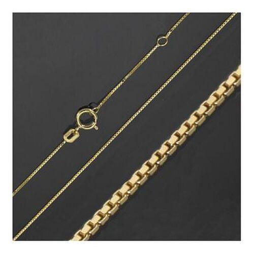 Cruz remolque hochglnz 31 mm oro 333 40,45,50,55 cm de morir cadenas de oro