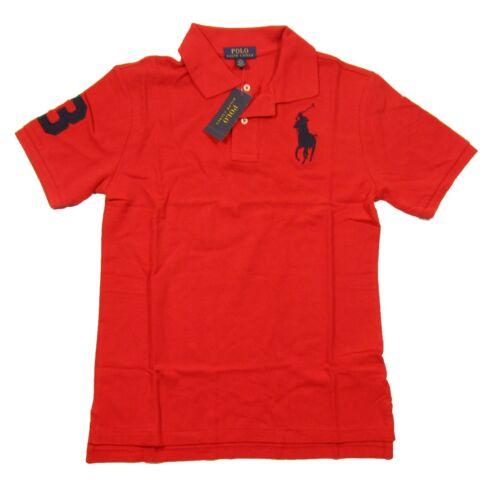 Polo Ralph Lauren Boys Red Big Pony Short Sleeve Polo Shirt