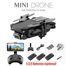 Drone LS Pro WIFI FPV 1080P HD Camera 3Batteries Foldable Selfie RC Quadcopter