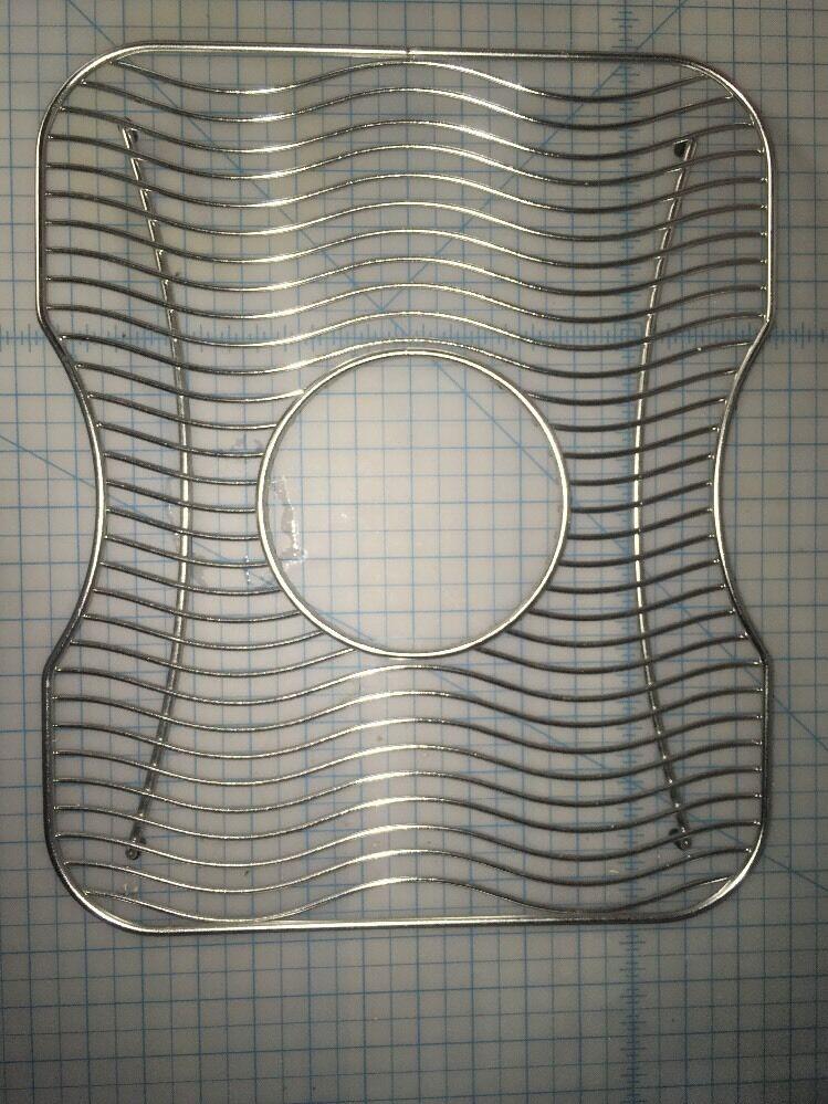Elkay LKWBG 1316SS fond de grille pour cuisine évier en acier inoxydable 13  x 16