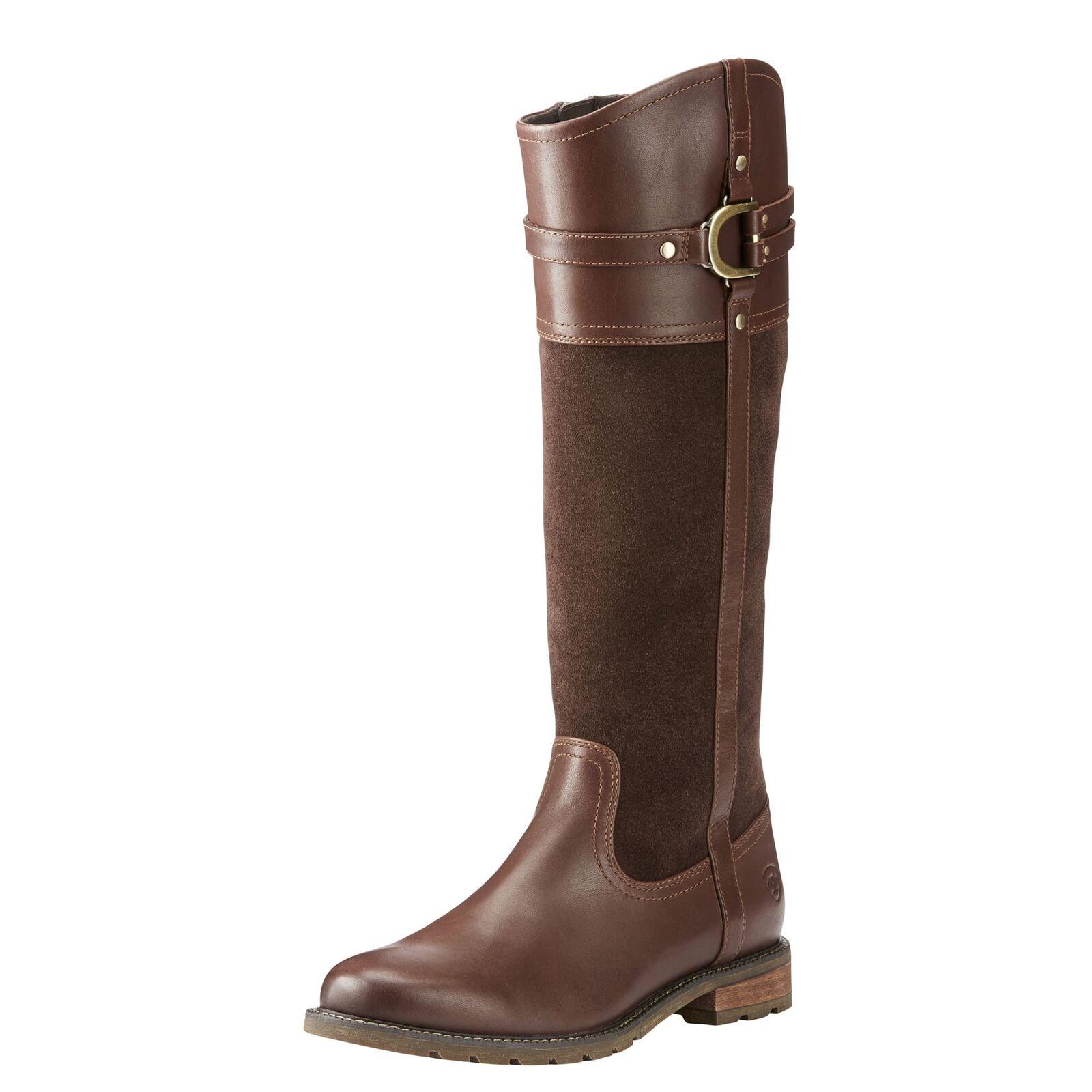 Ariat 10024990 Women Women Women Loxley H2O Chocolate English Boot 2a6a0f