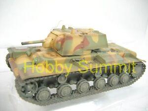 1-72-Russian-Soviet-Army-WW2-KV-1-1942-Heavy-Tank-Camouflage-Finished-Model
