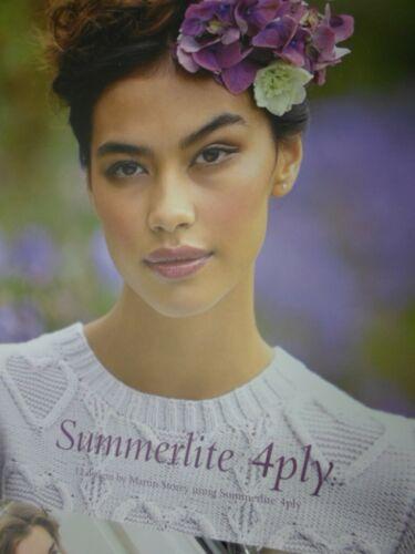 ROWAN Summerlite 4 ply knitting pattern book