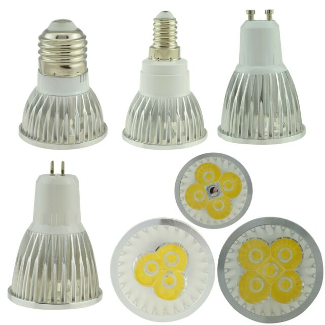 Dimmable Epistar E27 E14 GU10 MR16 GU53 LED Spot Light 9W 12W 15W 110V 220V Bulb