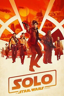 """""""Solo; A Star Wars Story""""...Classic Sc-Fi Movie Poster Various Sizes"""