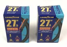 """GOODYEAR 27.5/"""" BICYCLE TUBES 1.75/""""-2.125/"""" LOT OF 2 PRESTA VALVE- NEW IN BOX!"""