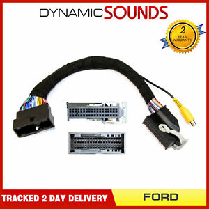 InCarTec 27-317 SYNC 2 3 Reverse Camera Addon for Ford Kuga MK2 2012 On
